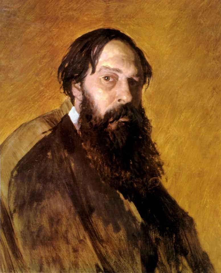 Портрет художника А. К. Саврасова