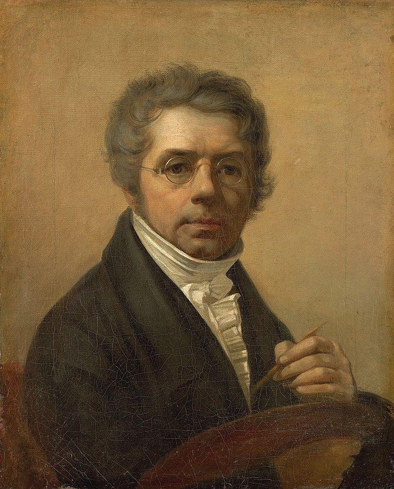 Портрет художника А. Г. Венецианова