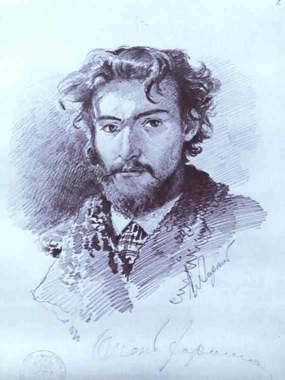 Портрет художника Ф. А. Васильева