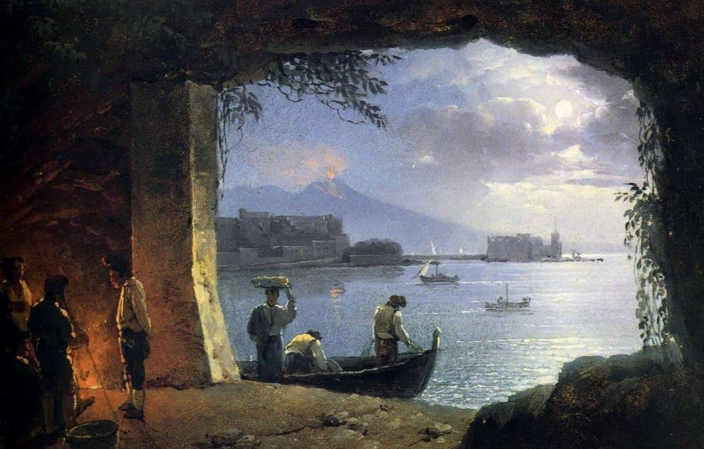 Картина художника Сильв. Ф. Щедрина на тему Италия